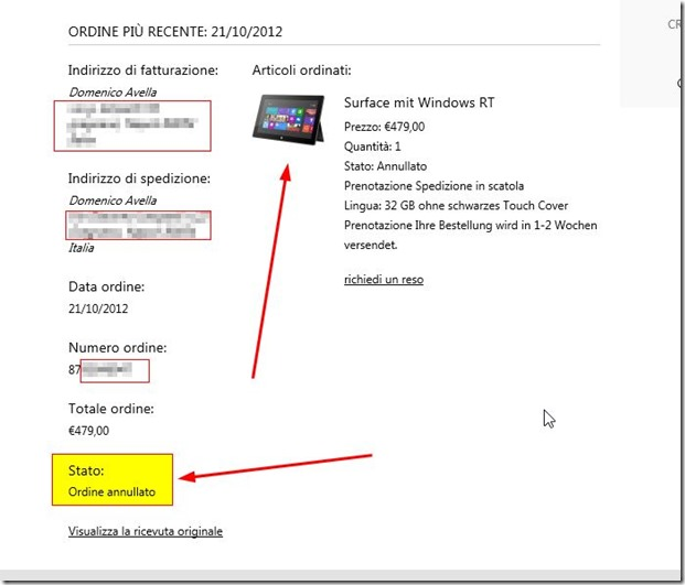 mseea Store Online - Cronologia ordini - Windows Internet Explorer_2012-10-28_11-24-06